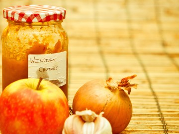 Apple-onion confiture