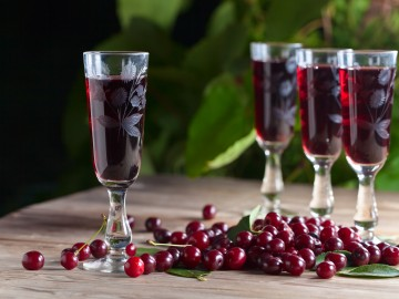 Cherry liqueur with Amaretto