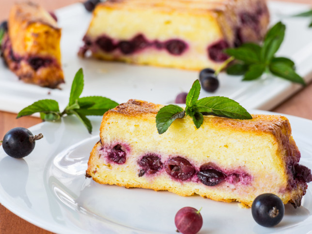 Cottage Cheese Pudding Russian Cheesecake Recipe With Photos Russian Cuisine